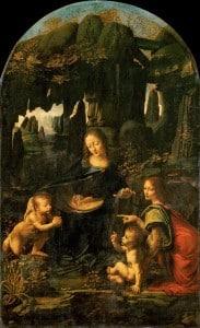 La Vierge aux Rochers