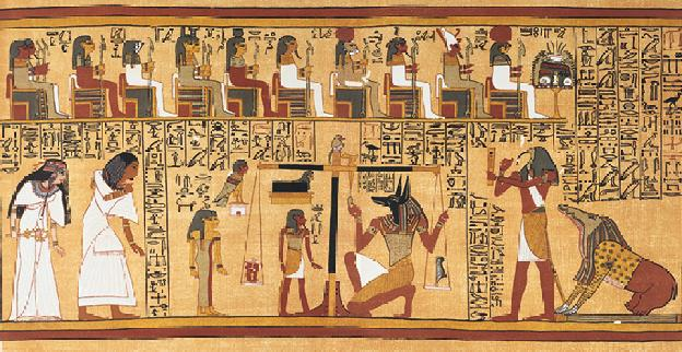 livre des morts egyptiens