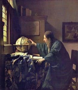 Astronome de Vermeer