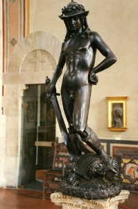 Le David en bronze de Donatello